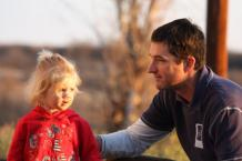 Greg with daughter Aila
