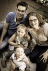 Corneel and Grethe and children